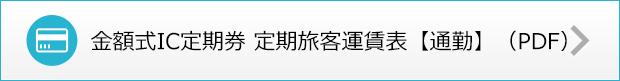 金額式IC定期券 定期旅客運賃表 【通勤】(PDF)